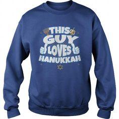 This Guy Loves Hanukkah Sweatshirt