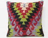 large rug pillow 24x24 big kilim pillow large couch pillow euro pillow cover 24x24 pillow case large boho pillow 24x24 pillows cover 21471