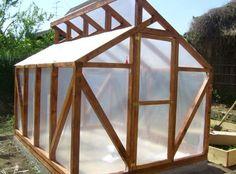 Backyard Greenhouse, Greenhouse Plans, Diy Wall Decor, Diy Home Decor, Greenhouse Construction, Greenhouse Effect, Homestead Survival, Plan Design, Summer Garden