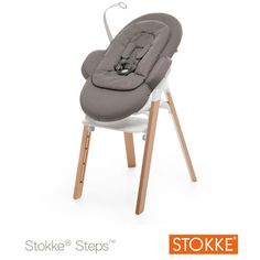 The Stokke Steps Bouncer is a high-quality ergonomic seating system combines a bouncer with a high chair for great flexibility. A stylish seating solution for your baby, toddler & child. Stokke Steps, Greige, Folding Camping Chairs, Easy Clip, Good Posture, Oversized Chair, Egg Chair, Baby Gear, Scandinavian Design