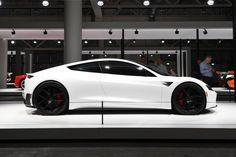 The next generation Tesler Roadster - Auto Data New Sports Cars, Exotic Sports Cars, Sport Cars, Exotic Cars, Ferrari 458, Lamborghini Aventador, New Tesla Roadster, Cl 500, Tesla Motors