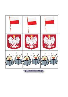 Polska, mój kraj - patriotyczne materiały do zdalnej edukacji - sudoku, prezentacja itp. - Pastelowe Kredki Playing Cards, Comics, Games, Playing Card Games, Gaming, Cartoons, Comic, Game Cards, Plays