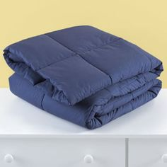 The Comforter Stands Alone (Blue)  | The Land of Nod #featheryournest