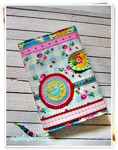 Journal? Needle book? Book cover? Too cute?  YES!