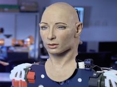 How will human-like robots react to the creepy trailer for a new movie starring…