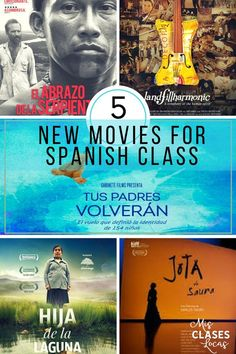 5 New Movies to use in Spanish class. Using real documentaries will get your students thinking about deep themes such as social justice. -Watch Free Latest Movies Online on Spanish Basics, Ap Spanish, Spanish Culture, How To Speak Spanish, Learn Spanish, Study Spanish, Learn French, Spanish Teaching Resources, Spanish Activities
