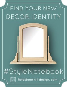 An interior designer to helps you define your personal style with the online series #StyleNotebook! The first part of the series helps you get out of your Decorating Box into a freer decor identity!