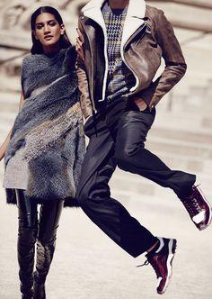 """Crazy in Love"" Hadassa Lima for Harper's Bazaar 2015"
