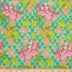 Amy Butler Violette Field Poppy Rose - SUR COMMANDE DELAI 2/3 SEMAINES