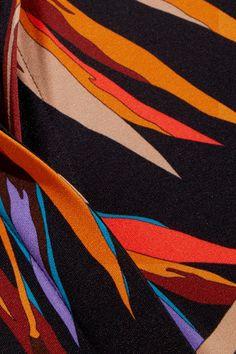 Emilio Pucci - Printed Stretch-jersey Shirt - Black - IT46