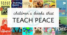 The best books about peace for children to teach kids the value of compassion, kindness, and peaceful living. Perfect reading for the classroom or at home. Good Books, Books To Read, My Books, Teaching Reading, Teaching Kids, Peace Studies, Peace Education, Youth Programs, School Librarian
