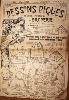 Dessins piqués n° 271 - 15 avril 1923