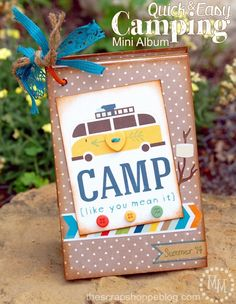 Quick  Easy Camping Mini Album