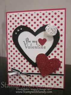 Love Banner Card Front by stampwithsandy - Cards and Paper Crafts at Splitcoaststampers