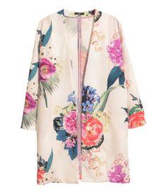 H&M US |  Patterned Coat | Online Exclusive