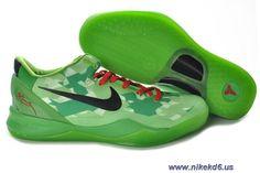 New Nike Zoom Kobe VIII 8 Green Red 555035-701