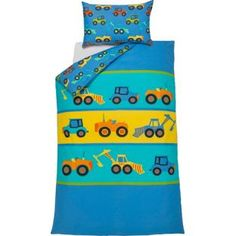 Buy Digger Stitch Children's Bedding Set - Single at Argos.co.uk - Your Online Shop for Children's bedding sets.