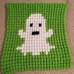 SPRE: Patterns & Design: Crochet Ghost Square