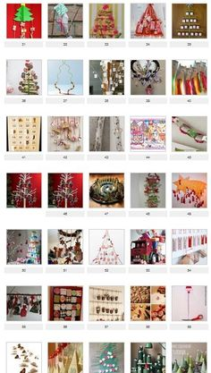 70 advent kalender ideetjes #Adventskalender, #Advents #calender