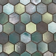 ICONIC HEXAGON MOSAICS - Products - Surface Gallery