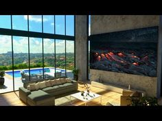 Samsung TV The Wall! The Next Generation Is Now! – Techmash Bedroom Couch, Samsung Tvs, Home Tech, Modular Design, Tv Commercials, The Next, New Technology, Flexibility, Contrast