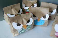 Hidden Owls Game....they have treats inside.