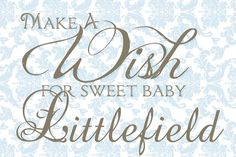 Wish for Baby Shower Invitations, Invites, Wishes For Baby, Baby Shower Signs, Damask, Stationary, Handmade Gifts, Etsy, Products