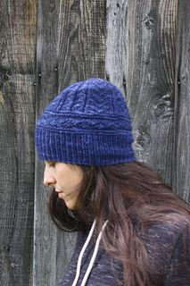 """Memphre,"" by Amy Christoffers, knit in Berroco Artisan. Free pattern from Berroco!"