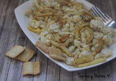 Bacalao con patatas y huevos rotos | Cocina
