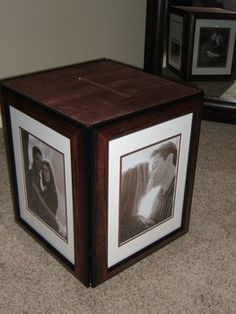 How to make a photo card box for your wedding via Project Wedding