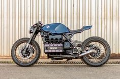Bmw K100 Cafe Racer By Retrorides With Images Cafe Racer Bikes