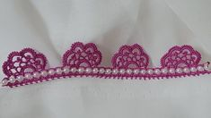 Make It Yourself, Crochet, Crochet Edgings, Tejidos, Napkins, Ganchillo, Crocheting, Knits, Chrochet