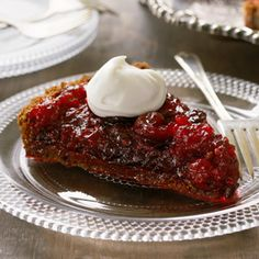 Try these tangy twists on a Thanksgiving favorite: cranberry-wine sauce, cornbread & cranberry stuffing and cranberry-ginger tart. #Hallmark #HallmarkIdeas