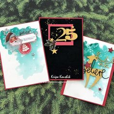 Chipboard - Christmas Cards by Kripa Koushik 2017 Design, Chipboard, Cute Cards, Christmas Cards, November, Paper Crafts, Crafty, Projects, Blog