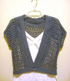 Free Crochet Pattern For Bolero : Best 25+ Crochet shrug pattern ideas on Pinterest