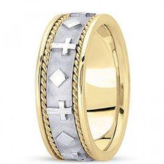 24 Best Christian Wedding Rings Images On Pinterest 14k Gold Ring