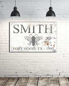 Established Family Signs - Farmhouse Decor Wall Art