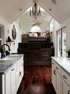 Piccola casa vintage glam - la cucina