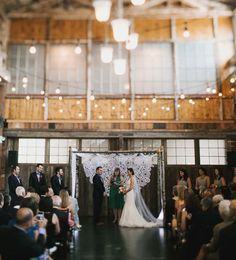 Sodo Park Seattle Wedding: Sarah + Parker | Green Wedding Shoes Wedding Blog | Wedding Trends for Stylish + Creative Brides
