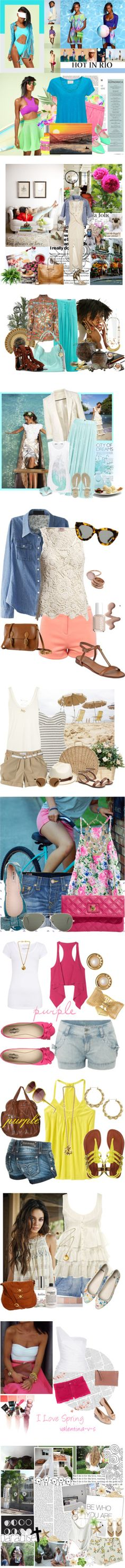 """""""_fash.inspir.summer_mix_01_"""" by sephira-1 ❤ liked on Polyvore"""