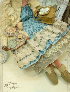 Слиль Бохо в кукольном мире. / Интересненькое / Бэйбики. Куклы фото. Одежда для…