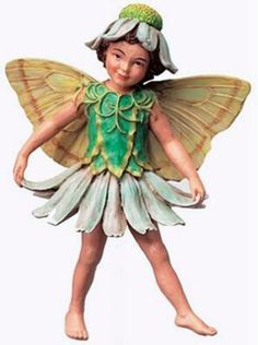 Retired Cicely Mary Barker Scentless Mayweed Flower Fairy Ornament Figurine | eBay