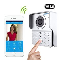 Wireless Visual intercom doorbell Home Security Camera Monitor Intercom System with have alarm and remote control functions - - AmazonSmile