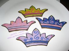 Fairytale Ball - Crown Cookie Idea