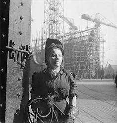 Woman welder