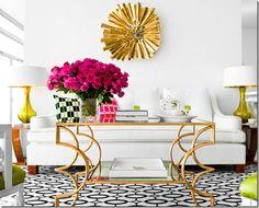 living room bright contrast