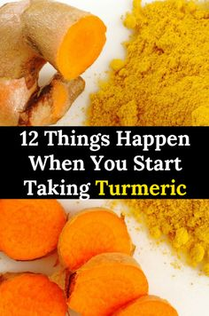 12 Things Happen When You Start Taking Turmeric turmeric health healthbenefits healthy healthcare wellness 83246293098999475 Natural Health Remedies, Natural Cures, Herbal Remedies, Home Remedies, Gas Remedies, Natural Diuretic, Natural Treatments, Health And Nutrition, Health Tips