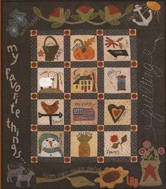 Hey, I found this really awesome Etsy listing at http://www.etsy.com/listing/163114064/primitive-folk-art-wool-quilt-pattern-my