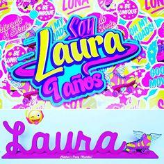 Póster y nombre personalizado! #soylunaparty #soyluna #fiestasoyluna #cumpleañossoyluna #soylunapartyideas #fiestaspersonalizadas #fiestaspersonalizadasmedellin