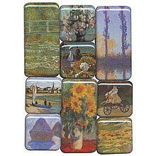 Monet Museum Magnets - shopPBS.org